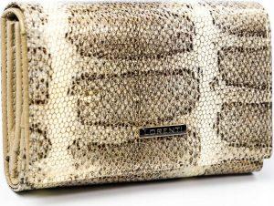 Lorenti peněženka se vzorem hadí kůže RFID (76112-SK GOLD) Velikost: univerzální