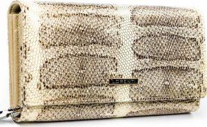 Lorenti peněženka se vzorem hadí kůže RFID (76111-SK GOLD) Velikost: univerzální