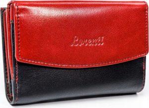 Lorenti černo-červená peněženka (LT-10-BCF RED) Velikost: univerzální