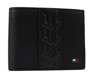 Tommy Hilfiger Pánská kožená peněženka Leather Ns Trifold Black