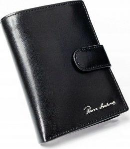 PIERRE ANDREUS Elegantní kožená peněženka (CPR-027-PA BLACK) Velikost: univerzální