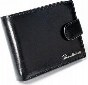 PIERRE ANDREUS Elegantní kožená peněženka (CPR-022-PA BLACK) Velikost: univerzální