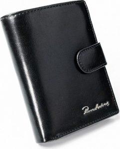 PIERRE ANDREUS Černá kožená peněženka (PC-104L-PA BLACK) Velikost: univerzální