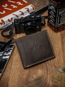 ALWAYS WILD Hnědá elegantní peněženka (N992-MH BROWN) Velikost: univerzální