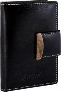 LORENTI Černá kožená peněženka (RD-04-BAL BLACK) Velikost: univerzální
