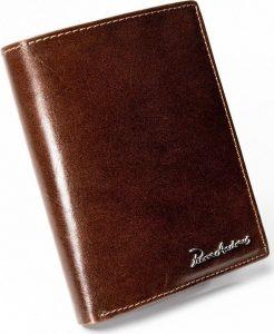 PIERRE ANDREUS Hnědá kožená peněženka (PA-D1072-VT BROWN) Velikost: univerzální