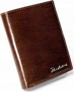 PIERRE ANDREUS Pánská hnědá peněženka RFID (PA-N104-VT BROWN) Velikost: univerzální