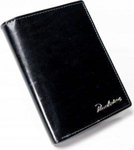 PIERRE ANDREUS Černá kožená peněženka (PA-D1072-VT BLACK) Velikost: univerzální
