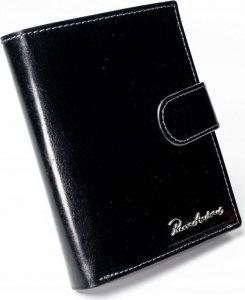 PIERRE ANDREUS Hnědá kožená peněženka (PA-N104L-VT BLACK) Velikost: univerzální