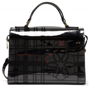 Desigual černá kabelka Bols Cristal Paris