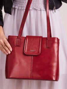Rovicky červená dámská shopper kabelka ( TWR-53) Velikost: univerzální