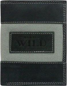 Pánská peněženka Always Wild N4-JEANS BLACK Velikost: univerzální