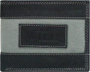 ALWAYS WILD pánská peněženka N992-JEANS BLACK Velikost: univerzální