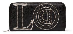 Desigual černá peněženka Mone Love Zip Around