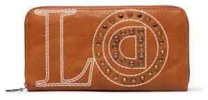 Desigual hnědá peněženka Mone Love Zip Around