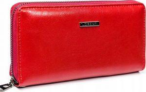 Lorenti červená kožená peněženka (GF119-SL RED) Velikost: univerzální