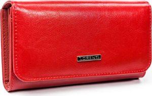 Lorenti červená kožená peněženka (GF110-SL RED) Velikost: univerzální