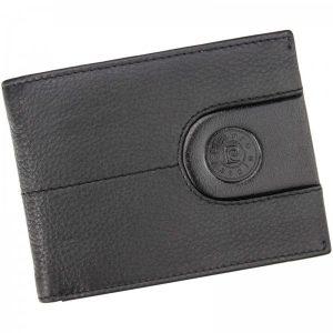 Pánská kožená peněženka Pierre Cardin Eldar – černá