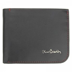 Pánská kožená peněženka Pierre Cardin Rikke – černo-červená