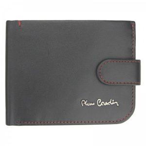 Pánská kožená peněženka Pierre Cardin Maren – černo-červená
