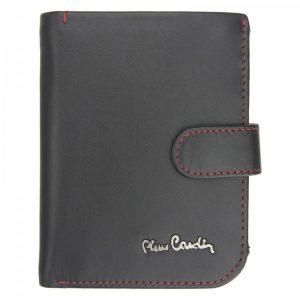 Pánská kožená peněženka Pierre Cardin Torstein – černo-červená