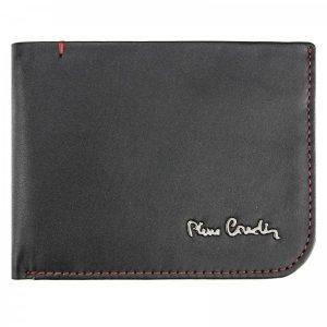 Pánská kožená peněženka Pierre Cardin Hauk – černo-červená