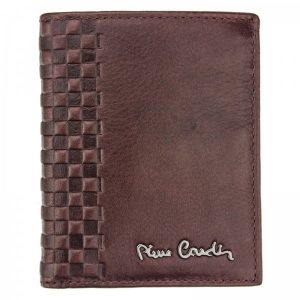 Pánská kožená peněženka Pierre Cardin Ingvild – hnědá