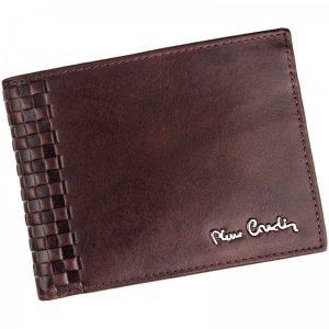 Pánská kožená peněženka Pierre Cardin Oddfrid – hnědá