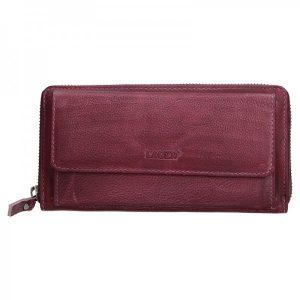 Dámská kožená peněženka Lagen Maria – fialová