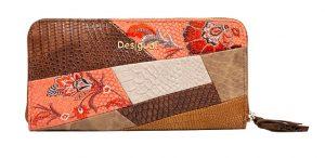 Desigual Dámská peněženka Mone Japan Patch Marron 20SAYP06 6000