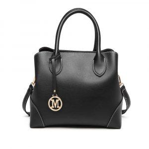 Černá elegantní kabelka 56400