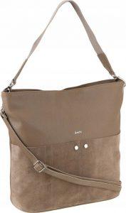 Rovicky béžová kožená kabelka (TWR-102 MOCCA) Velikost: univerzální