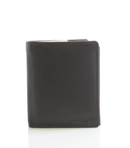 Hnědá kožená peněženka SendiDesign P16-6 hnědá
