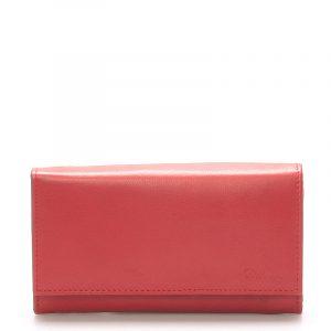 Stylová červená dámská peněženka – Delami Vippe červená