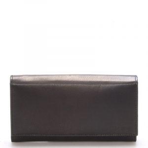 Stylová černá dámská peněženka – Delami Vippe černá