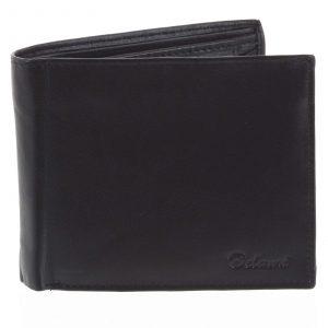 Pánská kožená peněženka černá – Delami Five černá