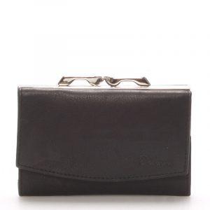 Stylová černá dámská peněženka – Delami 9368 černá