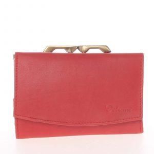 Stylová červená dámská peněženka – Delami 9368 červená