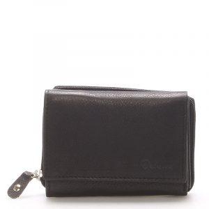 Kožená černá peněženka – Delami 8230 černá