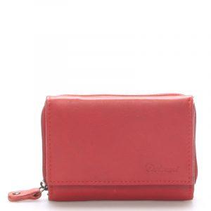Kožená červená peněženka – Delami 8230 červená