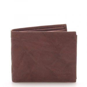 Pánská kožená peněženka hnědá – Sendi Design 56 hnědá