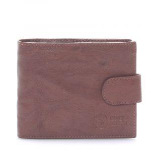 Praktická kožená hnědá peněženka – Sendi Design 47 hnědá