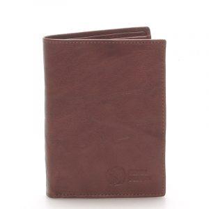 Kvalitní kožená hnědá peněženka – Sendi Design 45 hnědá