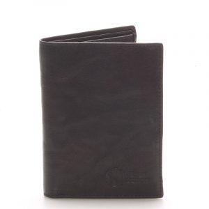 Kvalitní kožená černá peněženka – Sendi Design 45 černá