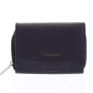 Dámská kožená peněženka modrá – Bellugio Smith modrá