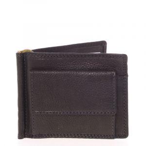 Pánská kožená dolarovka černá – SendiDesign Ctex černá
