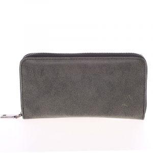 Elegantní dámská tmavě šedá peněženka – Just Dreamz Mayce šedá