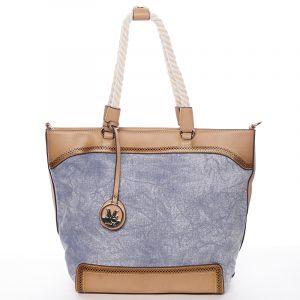 Jedinečná dámská kabelka přes rameno modrá – MARIA C Janelle modrá