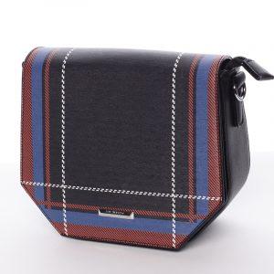 Trendy černá crossbody kabelka – Silvia Rosa Medea černá