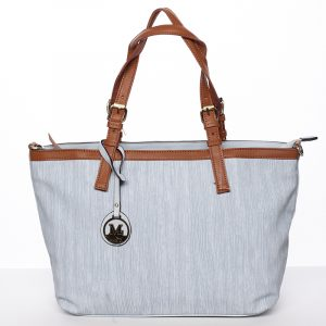 Módní dámská kabelka přes rameno modrá – MARIA C Itzel modrá